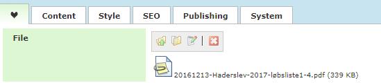 Downloadable file: Download button (BTN)
